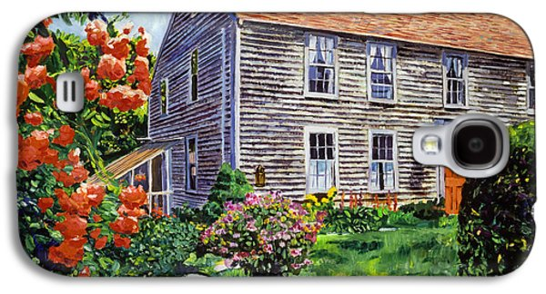 Country House Cape Cod Galaxy S4 Case by David Lloyd Glover