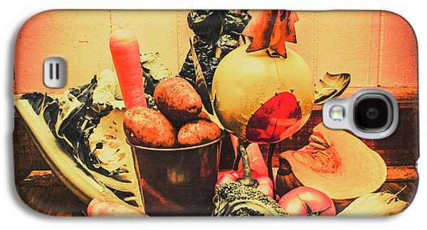 Vegetables Galaxy S4 Case - Country Kitchen Art by Jorgo Photography - Wall Art Gallery