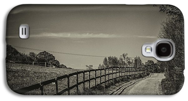 Country Path Galaxy S4 Case by Martin Newman