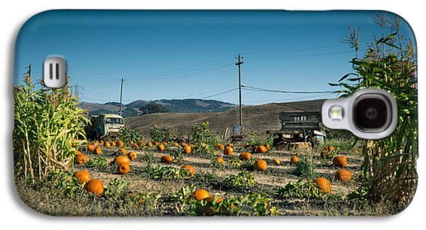 Country Pumpkin Patch Galaxy S4 Case