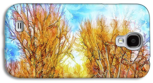Country Road Wandering Galaxy S4 Case