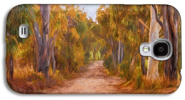 Country Roads 2  Impressionism Art Galaxy S4 Case