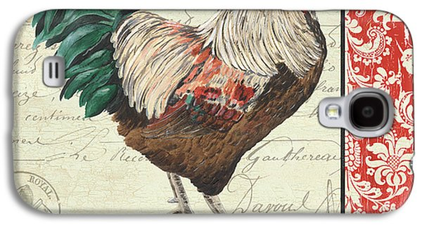 Country Rooster 1 Galaxy S4 Case by Debbie DeWitt