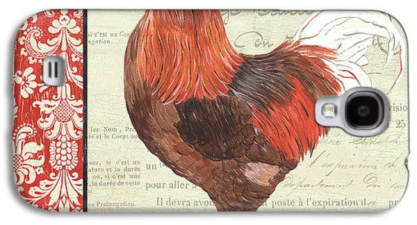 Country Rooster 2 Galaxy S4 Case by Debbie DeWitt