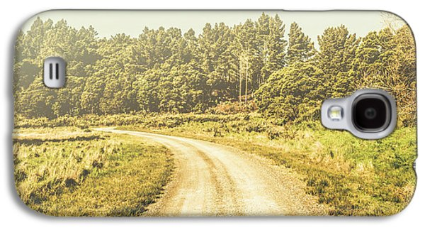 Countryside Road In Outback Australia Galaxy S4 Case by Jorgo Photography - Wall Art Gallery