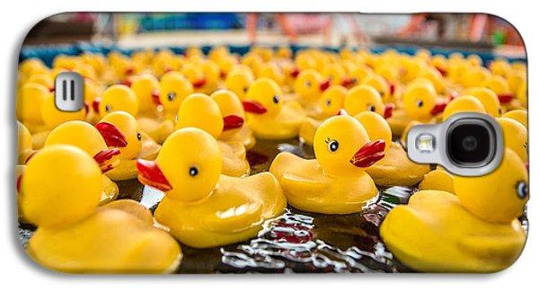 County Fair Rubber Duckies Galaxy S4 Case by Todd Klassy