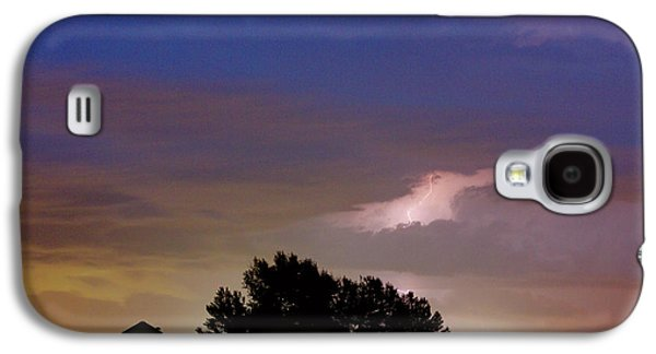 County Line 1 Northern Colorado Lightning Storm Galaxy S4 Case by James BO  Insogna