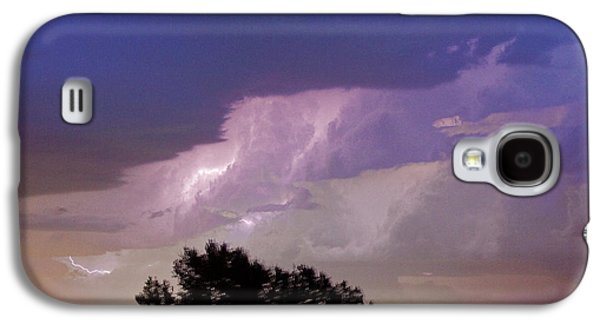 County Line Northern Colorado Lightning Storm Cropped Galaxy S4 Case by James BO  Insogna