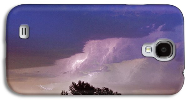 County Line Northern Colorado Lightning Storm Galaxy S4 Case by James BO  Insogna