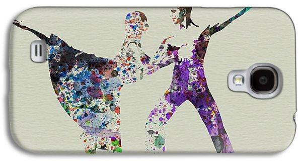 Couple Dancing Ballet Galaxy S4 Case by Naxart Studio