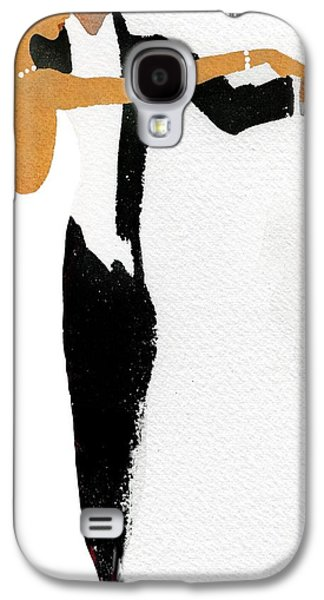 Couple Dressed Up And Slow Dancing Galaxy S4 Case by Gillham Studios