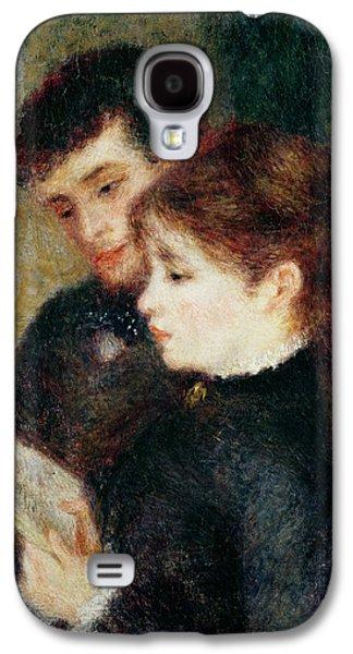 Couple Reading Galaxy S4 Case by Pierre Auguste Renoir