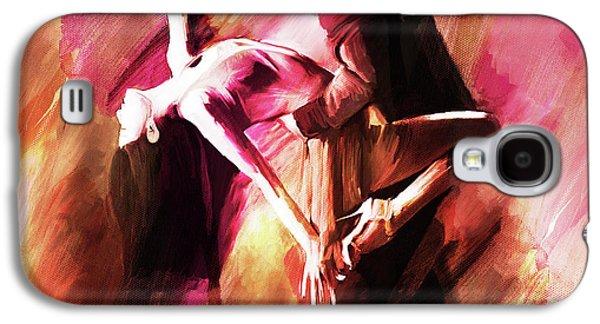 Couple Tango Art Galaxy S4 Case by Gull G