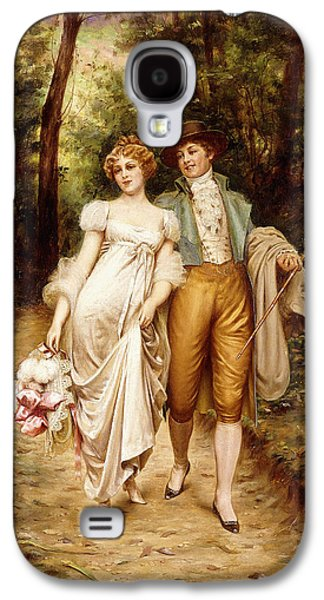 Courtship Galaxy S4 Case by Joseph Frederic Charles Soulacroix