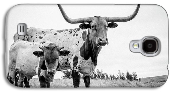 Cow Galaxy S4 Case - Cow And Calf In The Pasture by Sherri Rieck