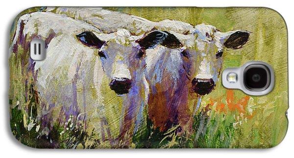 Cow Boys 2 Galaxy S4 Case by Tracie Thompson
