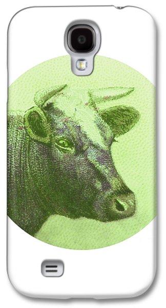 Cow II Galaxy S4 Case by Desiree Warren