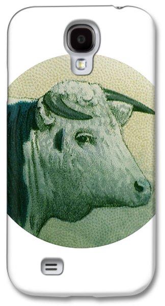 Cow IIi Galaxy S4 Case by Desiree Warren