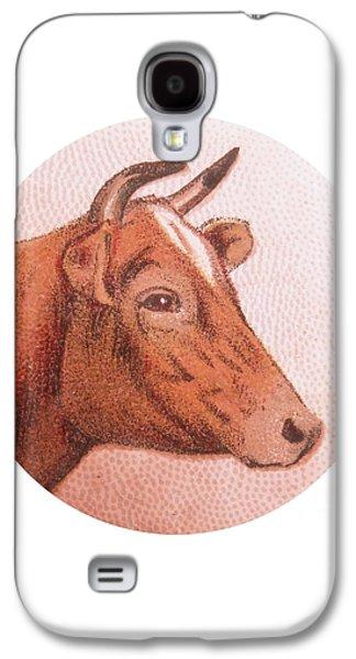 Cow Iv Galaxy S4 Case by Desiree Warren