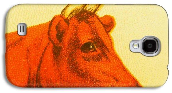 Cow V Galaxy S4 Case by Desiree Warren