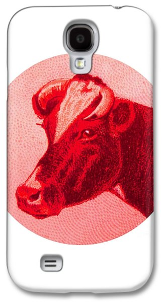 Cow Vi Galaxy S4 Case by Desiree Warren