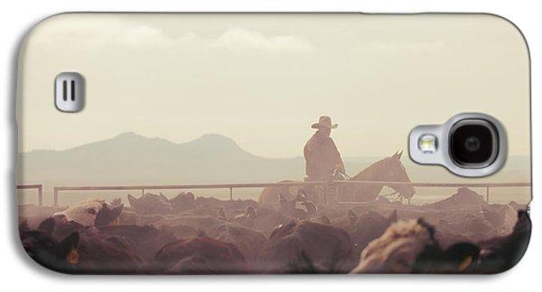 Cowboy Dawn Galaxy S4 Case by Todd Klassy