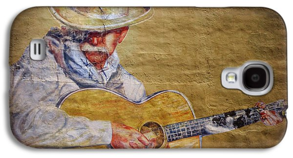 Person Galaxy S4 Cases - Cowboy Poet Galaxy S4 Case by Joan Carroll