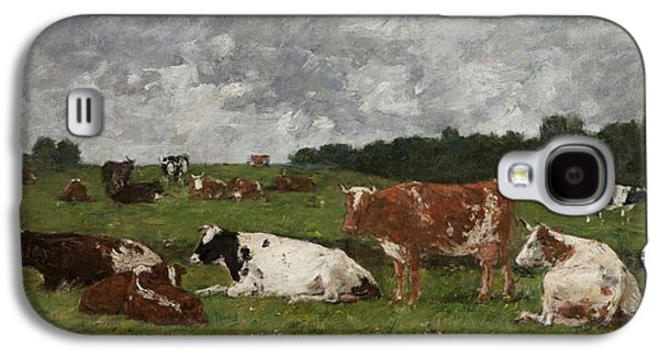Cows At The Pasture Galaxy S4 Case