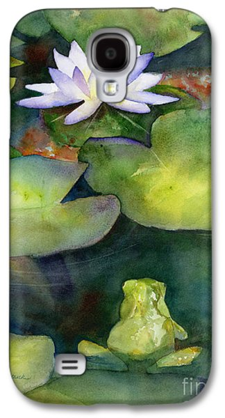 Lily Galaxy S4 Case - Coy Koi by Amy Kirkpatrick