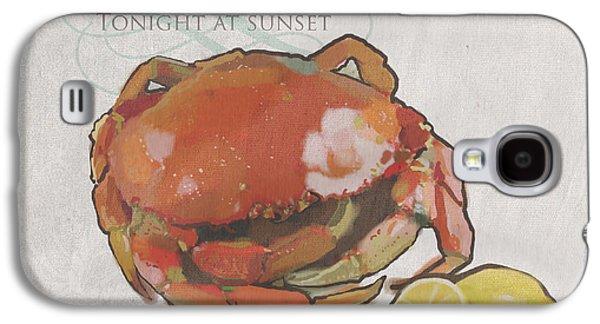 Crab Feed Galaxy S4 Case by Brad Burns