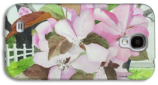 Crabapple Blossoms Galaxy S4 Case by Bonnie Young