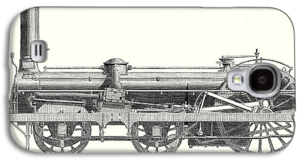 Crampton Locomotive Galaxy S4 Case