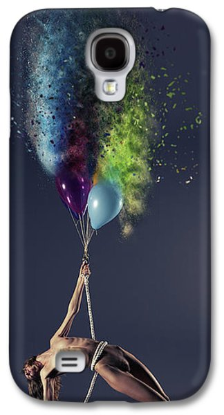 Crash Bang Walllop Galaxy S4 Case by Nichola Denny