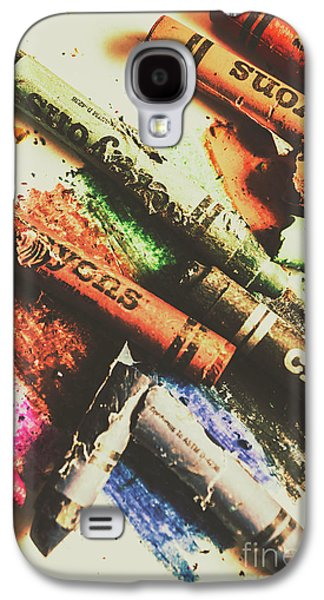 Crash Test Crayons Galaxy S4 Case by Jorgo Photography - Wall Art Gallery