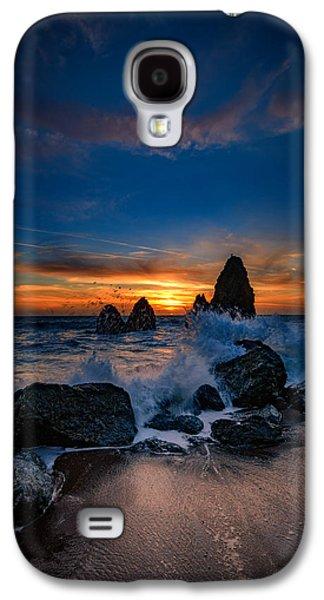 Crashing Waves At Rodeo Beach Galaxy S4 Case by Rick Berk