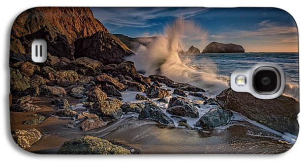 Crashing Waves On Rodeo Beach Galaxy S4 Case