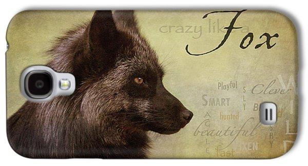 Crazy Like A Fox Galaxy S4 Case