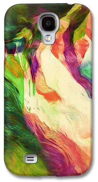 Crazy Modern Wild Life Abstract Galaxy S4 Case