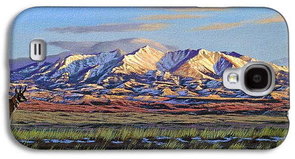 Crazy Mountains-morning Galaxy S4 Case by Paul Krapf