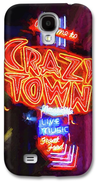 Crazy Town - Impressionistic Galaxy S4 Case