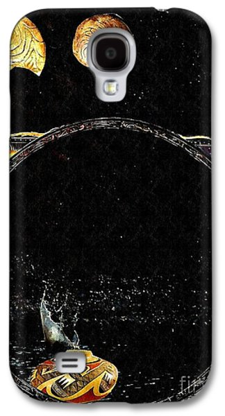 Creation Of Water Galaxy S4 Case