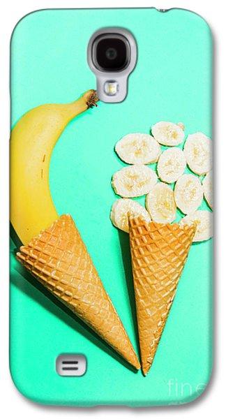 Banana Galaxy S4 Case - Creative Banana Ice-cream Still Life Art by Jorgo Photography - Wall Art Gallery