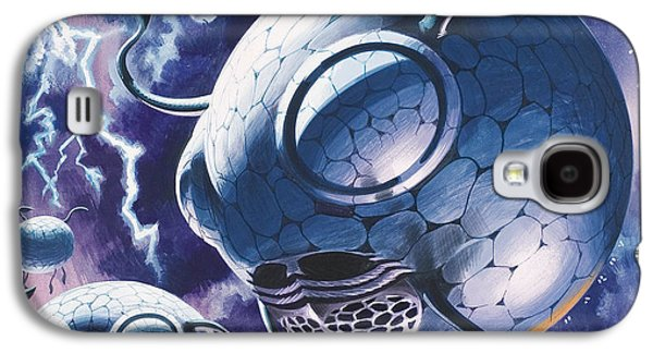 Creatures In Outer Space  Galaxy S4 Case by Wilf Hardy