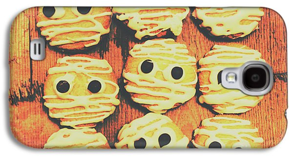 Shock Galaxy S4 Case - Creepy And Kooky Mummified Cookies  by Jorgo Photography - Wall Art Gallery