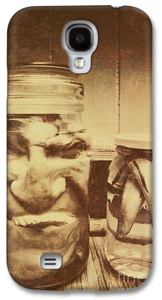 Creepy Halloween Scenes Galaxy S4 Case