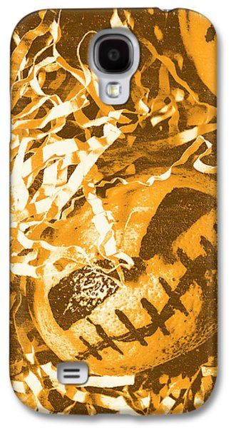 Creepy Vintage Pumpkin Head  Galaxy S4 Case by Jorgo Photography - Wall Art Gallery
