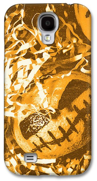 Creepy Vintage Pumpkin Head  Galaxy S4 Case