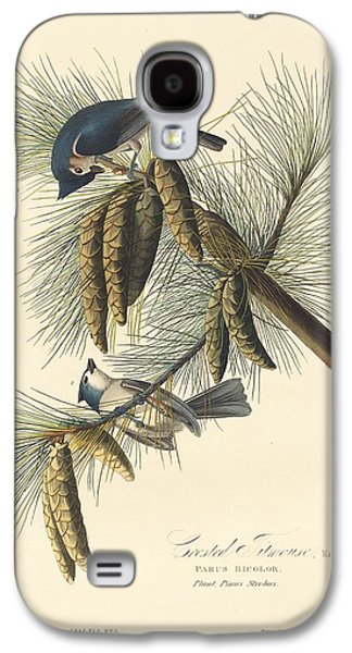 Titmouse Galaxy S4 Case - Crested Titmouse by Dreyer Wildlife Print Collections