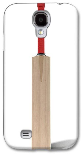 Cricket Bat Galaxy S4 Case by Allan Swart