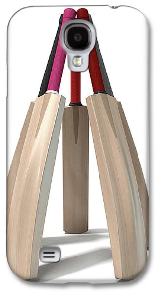 Cricket Bat Circle Galaxy S4 Case